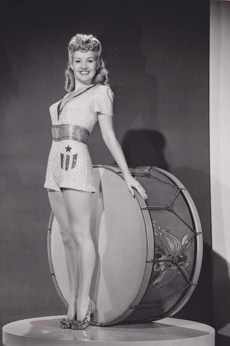 Betty Grable as seen in the June 25, 1943, issue of 'Yank, the Army Weekly', a weekly U.S. Army magazine fully staffed by enlisted men