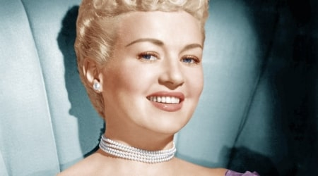 Betty Grable Height, Weight, Age, Body Statistics