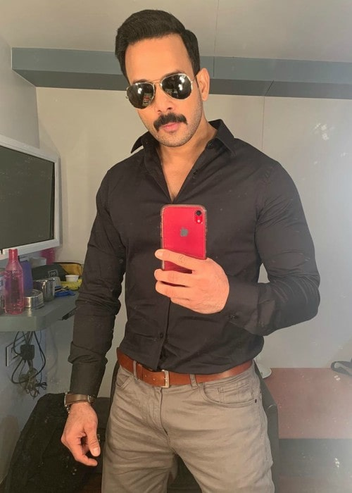 Bharath in a selfie in November 2019