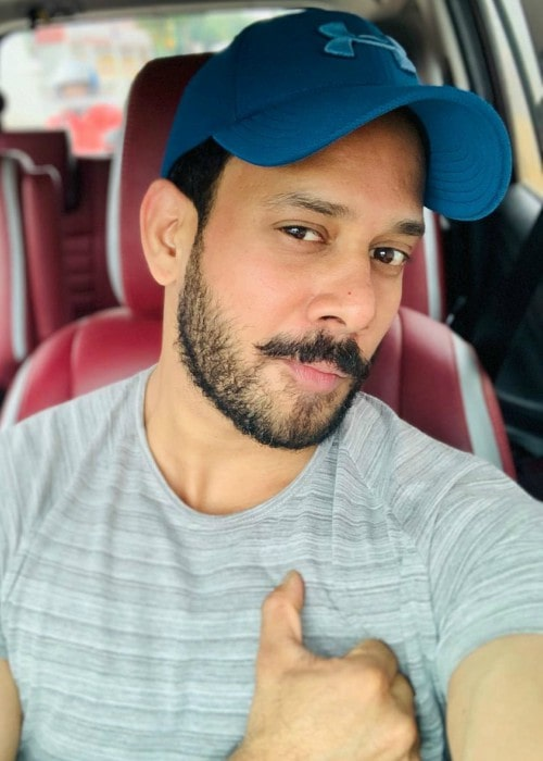 Bharath in an Instagram selfie as seen in October 2019