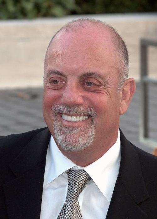 Billy Joel attending the premiere of the Metropolitan Opera in New York City in 2009