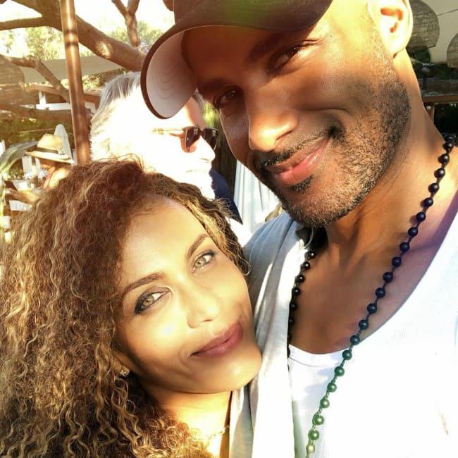 Boris Kodjoe and Nicole Ari Parker in a selfie in September 2019