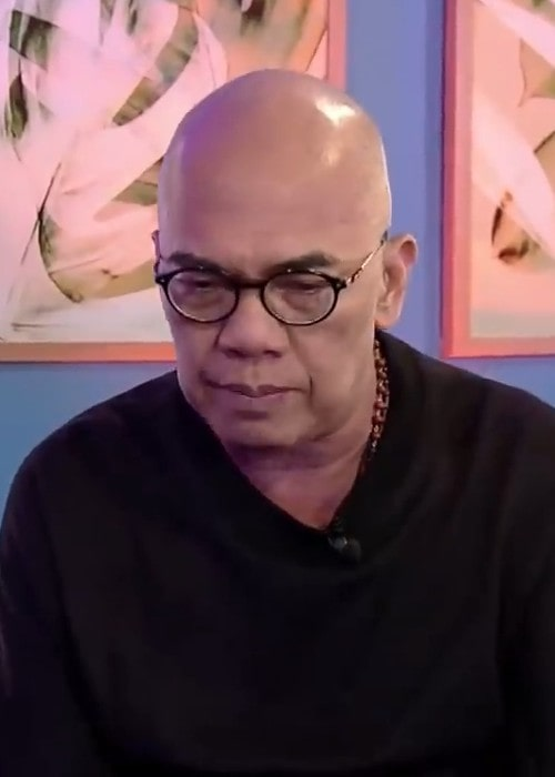 Boy Abunda during an interview as seen in December 2019