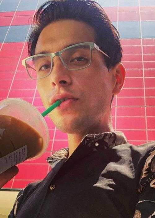 Brandon Rogers in an Instagram post as seen in July 2019