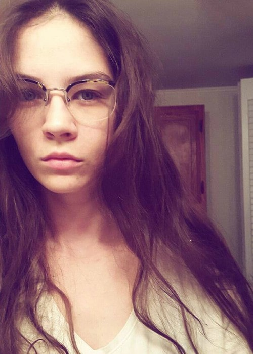 Brittani Kline in a selfie as seen in December 2016