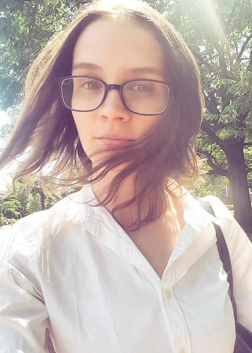 Brittani Kline in an Instagram selfie as seen in June 2018