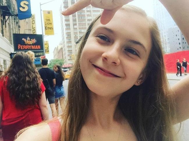 Brooklyn Shuck in an Instagram selfie as seen in September 2018