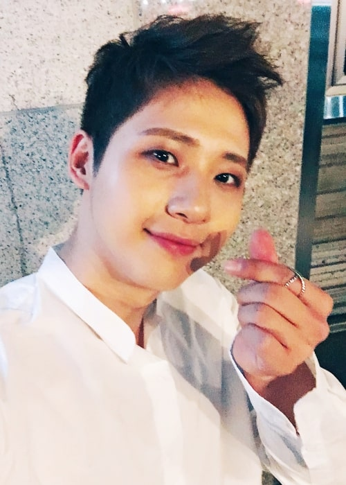 CNU as seen while clicking a selfie in June 2018