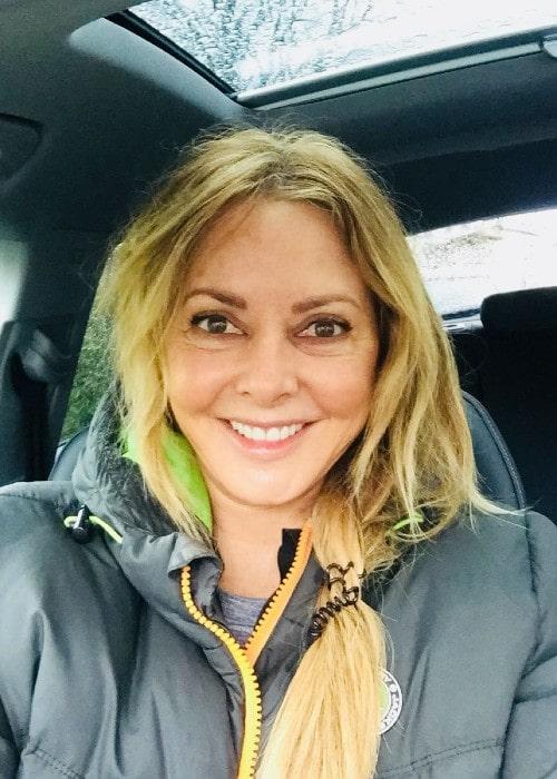 Carol Vorderman as seen in April 2018