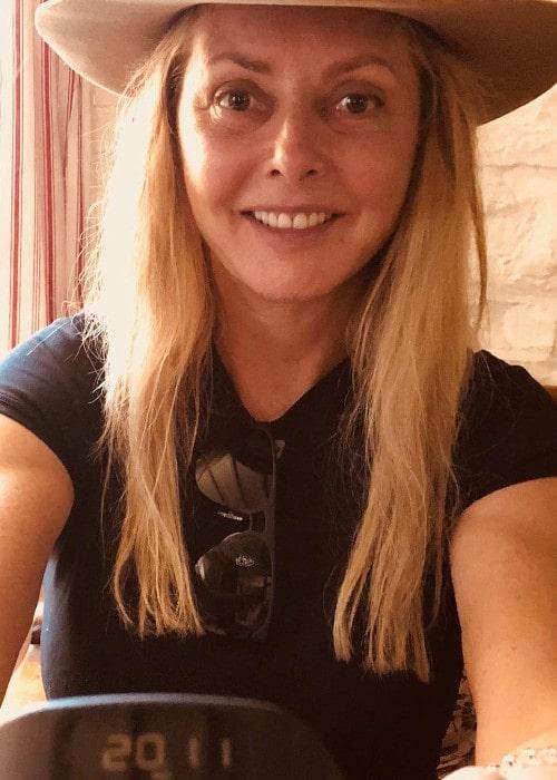 Carol Vorderman as seen in August 2018