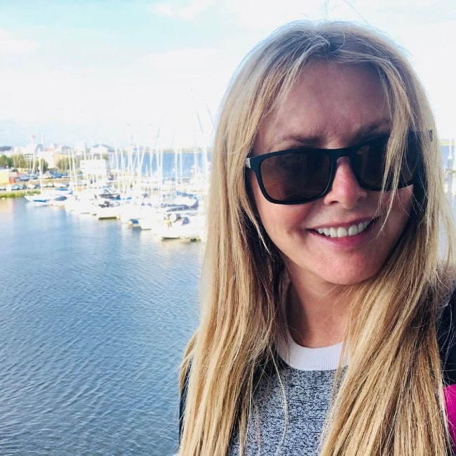 Carol Vorderman as seen in September 2019