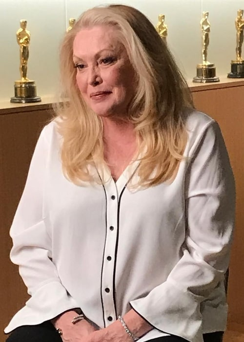 Cathy Moriarty as seen in a picture taken at The Academy in Los Angeles in August 2017