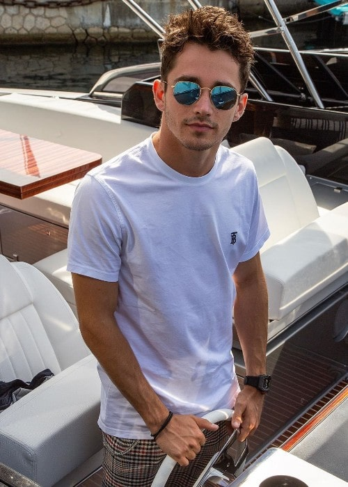 Charles Leclerc as seen in September 2019