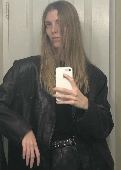 Chloe Memisevic in a selfie in October 2019