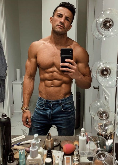 Christian Guzman in a selfie in June 2019