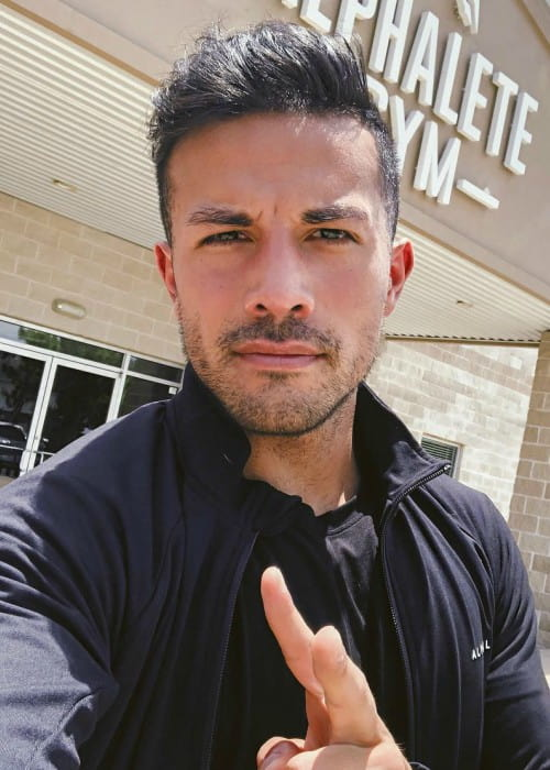 Christian Guzman in an Instagram selfie as seen in July 2018