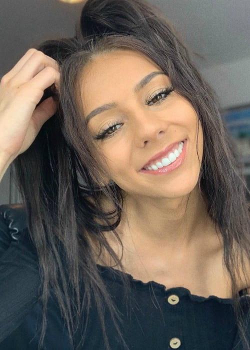 Christina Dobre-Kalamvokis in an Instagram selfie as seen in September 2019