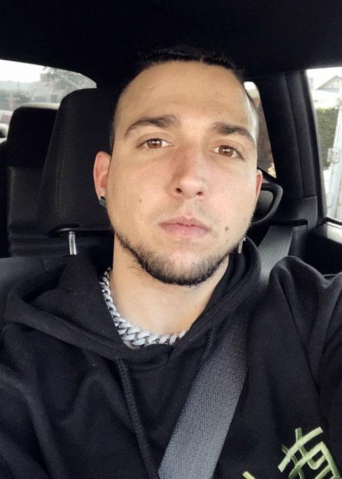 Corey Scherer in a selfie in October 2019