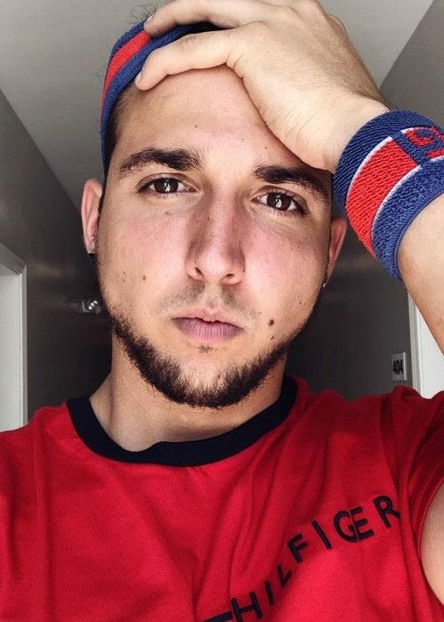 Corey Scherer in an Instagram selfie as seen in June 2019