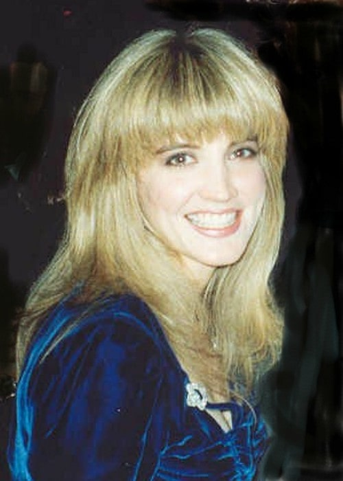 Crystal Bernard at the Governor's Ball after the 43rd Annual Emmy Awards in August 1991