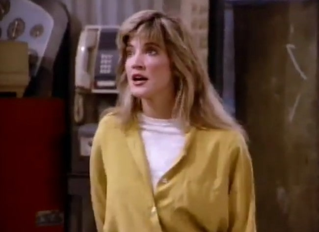 Crystal Bernard in a still from the TV show Wings