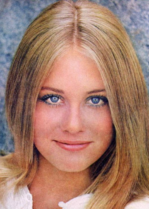 Cybill Shepherd from a 1970 Noxema ad in Teen Magazine