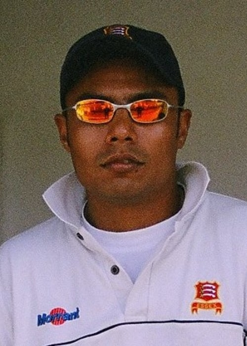 Danish Kaneria as seen in a close up picture taken in the past