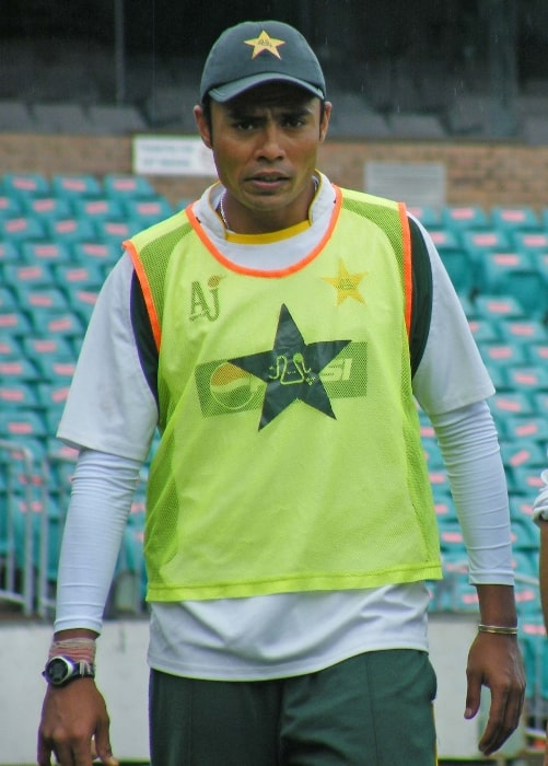 Danish Kaneria as seen in a picture taken on January 1, 2010