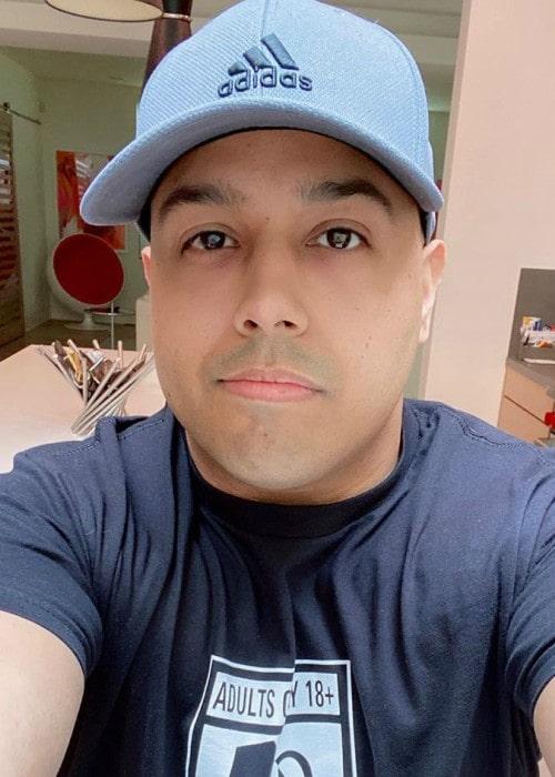 Dashie in an Instagram selfie as seen in October 2019