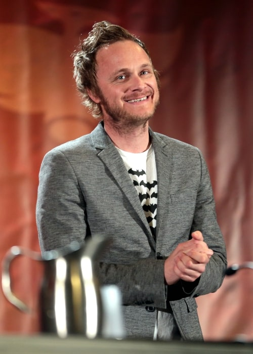 David Anders as seen in a picture taken at the Phoenix Comicon at the Phoenix Convention Center in Phoenix, Arizona on May 26, 2017