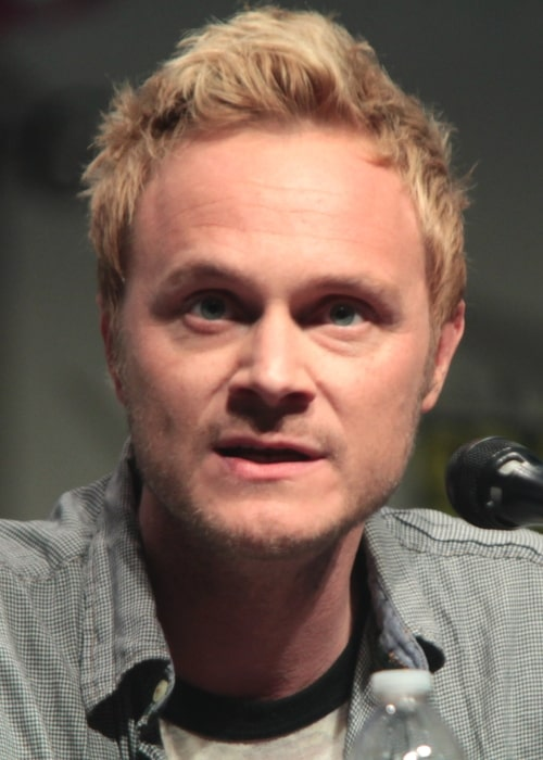 David Anders as seen in a picture taken at the Wondercon, for _iZombie_, at the Anaheim Convention Center in Anaheim, California on April 4, 2015