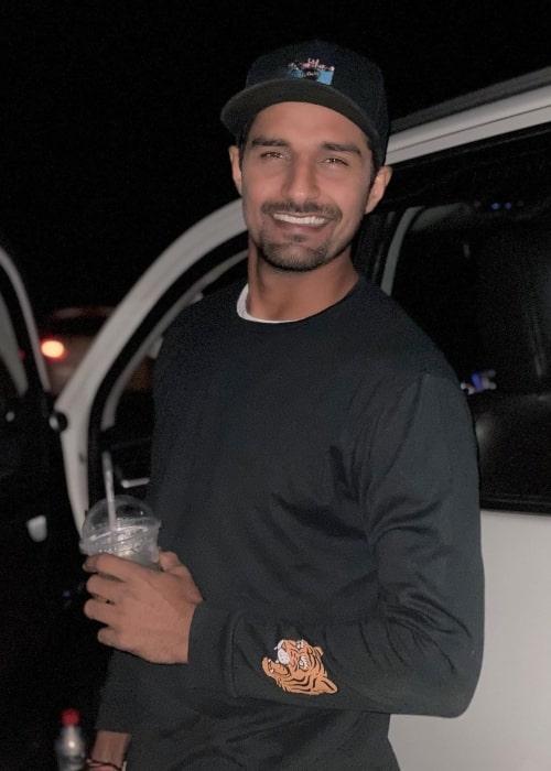 Deepak Hooda as seen in a picture taken in Vadodara in December 2019