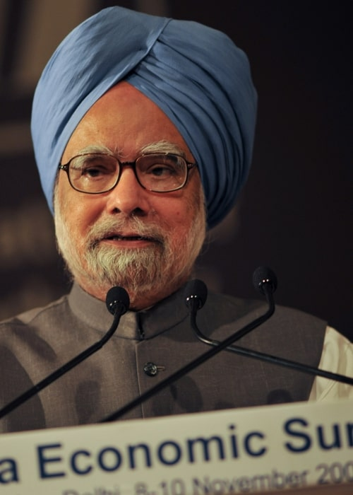 Dr. Manmohan Singh in a picture taken during the opening plenary at the during the World Economic Forum's India Economic Summit 2009 held in New Delhi, on November 2009