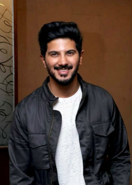 Dulquer Salmaan during an event in July 2018