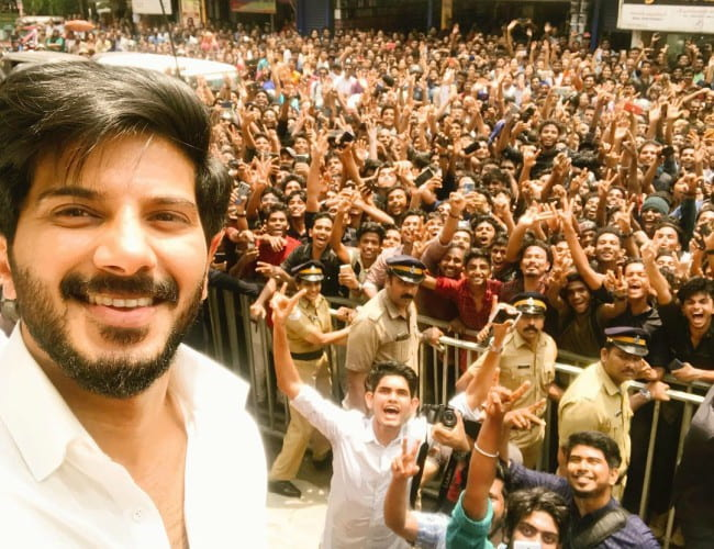 Dulquer Salmaan in an Instagram post in April 2019