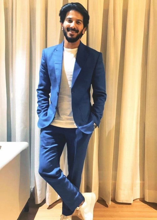 Dulquer Salmaan in an Instagram post in September 2019