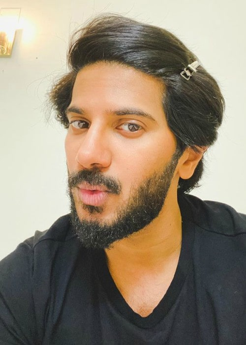 Dulquer Salmaan in an Instagram selfie as seen in November 2019