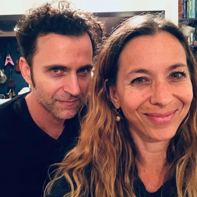 Dweezil Zappa and Moon Unit Zappa in a selfie in December 2018