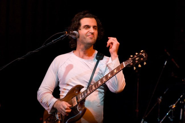 Dweezil Zappa during a performance as seen in October 2007