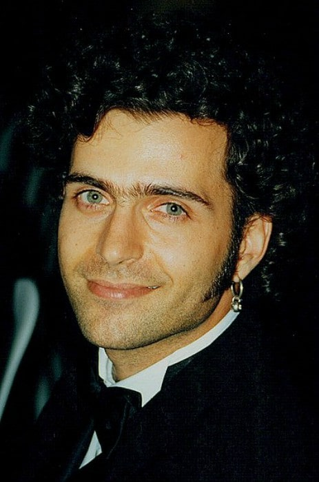 Dweezil Zappa during an event in 1996