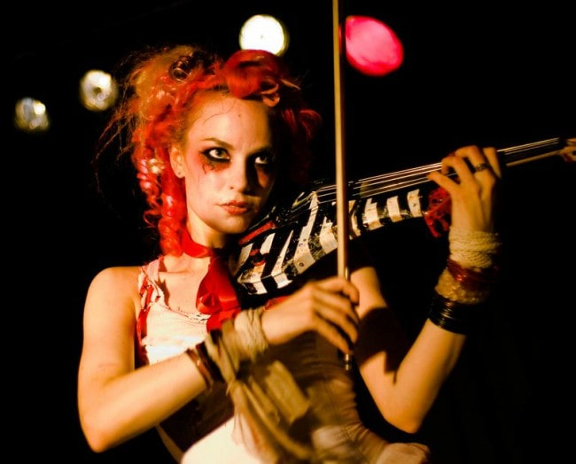 Emilie Autumn during a performance as seen in July 2007