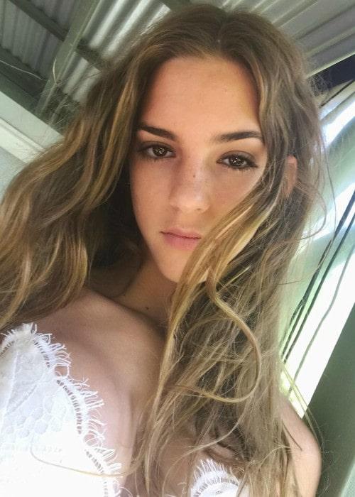 Emily Feld in an Instagram selfie as seen in April 2019