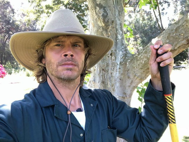 Eric Christian Olsen in an Instagram post as seen in April 2019