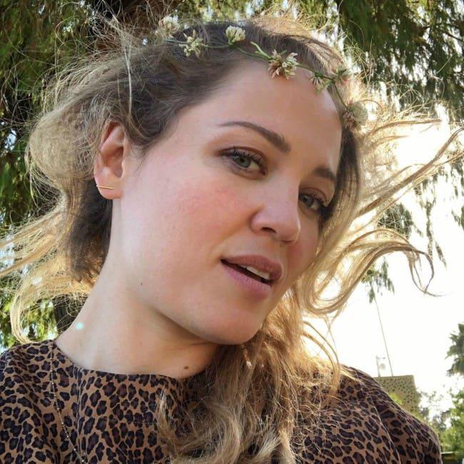 Erika Christensen in an Instagram selfie as seen in October 2019