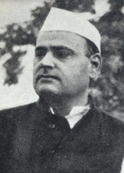 Feroze Gandhi as seen in a picture taken sometime before the 1950s