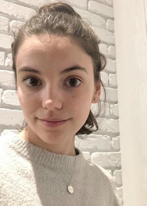 Francesca Reale in an Instagram selfie as seen in November 2019