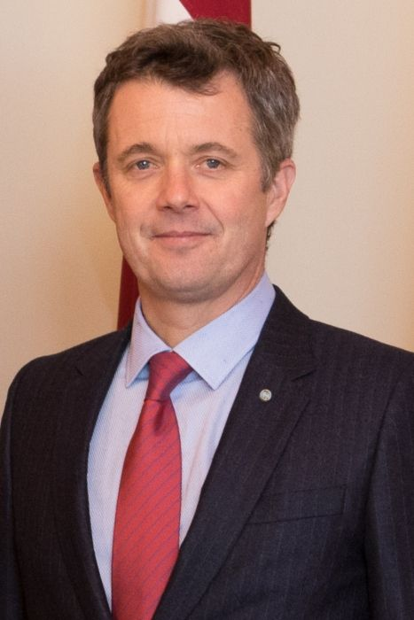 Frederik, Crown Prince of Denmark as seen in 2018