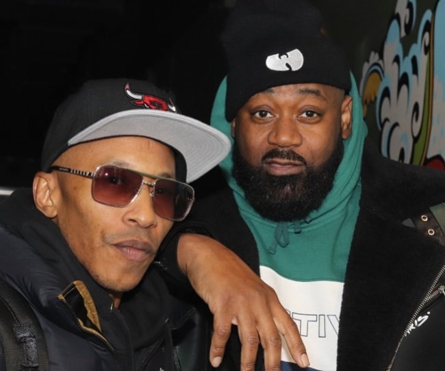 Fredro Starr (Left) as seen in a picture alongside rapper and songwriter, Ghostface Killah, in October 2019