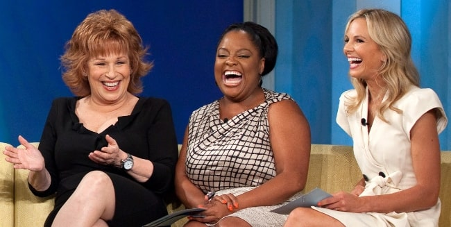 From Left to Right - Joy Behar, Sherri Shepherd, and Elisabeth Hasselbeck as seen during an episode of 'The View' at ABC Studios in New York City, New York, United States