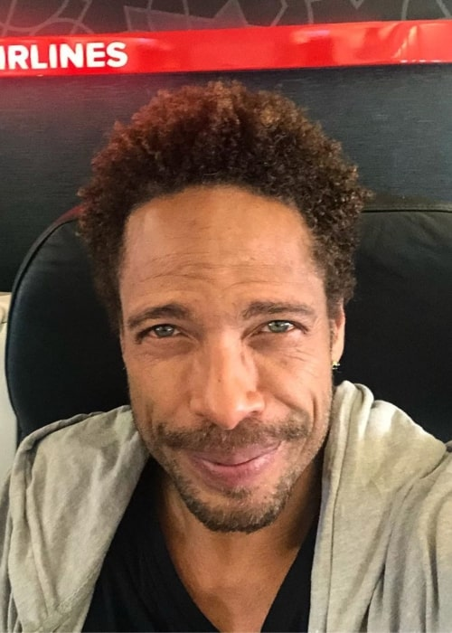 Gary Dourdan as seen in a selfie taken at the Diori Hamani International Airport in Niamey, Niger in November 2019